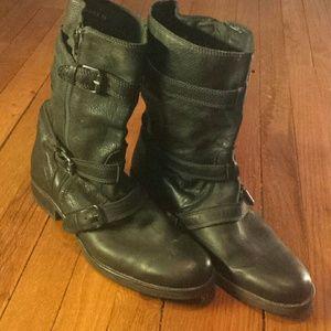 Jcrew motorcycle style short boot size 11
